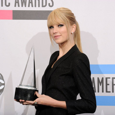 Crystal American Music Awards Trophy