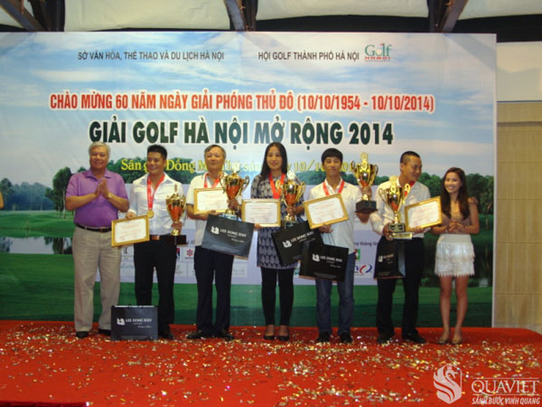 Giai Golf Ha Noi Mo Rong 2014 1