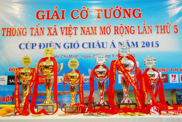 HTV tiep tuc doat cup vo dich giai co tuong TTXVN mo rong lan 5 nam 2015 1