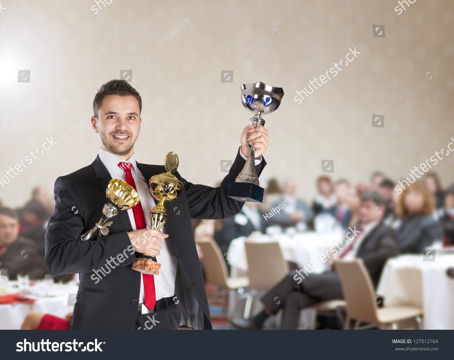 stock photo public indoor business conference for modern managers 127512164 1