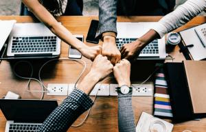 Nhân viên đoàn kết tạo nên một môi trường làm việc lý tưởng