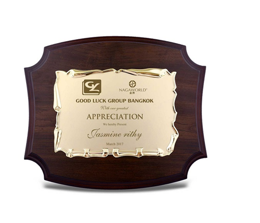 Bảng vinh danh dùng để khen thưởng các cá nhân trong công ty, doanh nghiệp